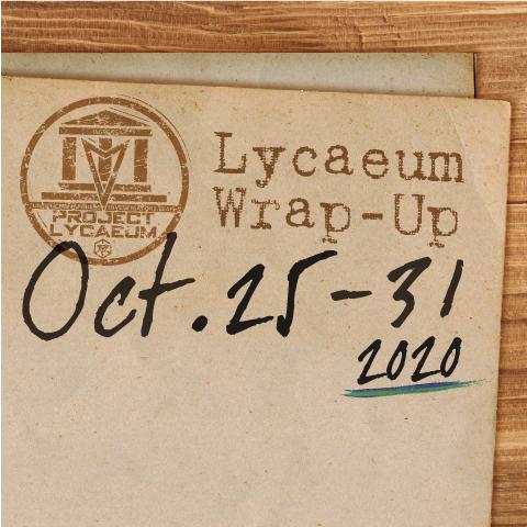 2020年10月25日~31日